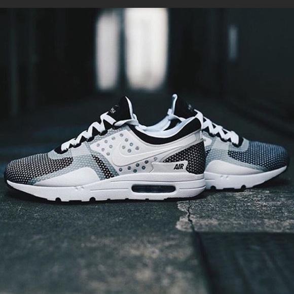 575a576829 Nike Shoes   Air Max Zero White Black   Poshmark